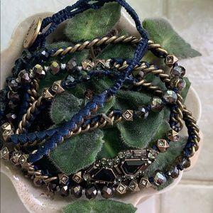 Chloe + Isabel beaded wrap bracelet